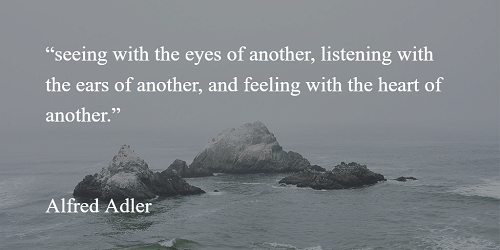 Alfred Adler quote