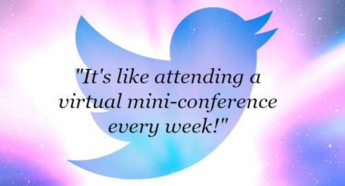Twitterchat conference quote
