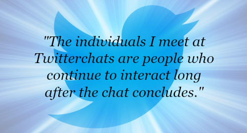 Twitterchat people quote